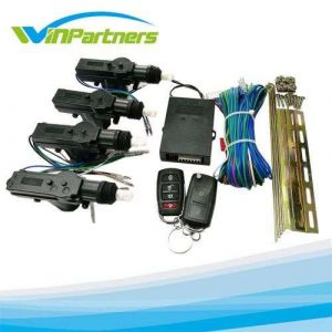 Car Remote Control Conversion 4 Door Power Central Lock Kit with 2 Keyless Entry