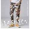 Classic and Fashion Camouflage Yellow Leisure Relaxed Pants