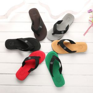 Classical Men Slippers Summer Fashion Beach Flip Flop  Multi Color Slipper