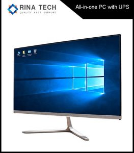 Core I3/I5/I7 22 Inch All in One Computer with UPS