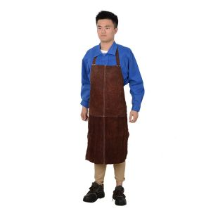 Cow Split Leather Apron La03