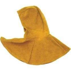 Cow Split Leather Welder Protective Welding Safety Hooded Cape Mantle