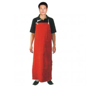 Cow Split Three Pieces Leather CE Welding Protective Long Apron