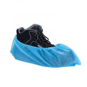 Cw001 Blue Non Woven Anti Slip Disposable Shoecover