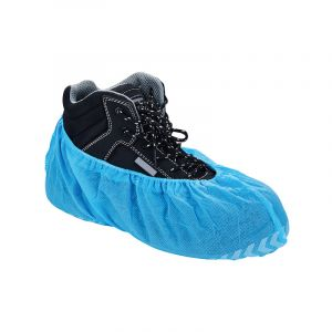 Cw004 Disposable Embossed Anti-Skip Nonwoven Shoecover with Printing