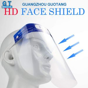 Dental Hospital Medical Protective Anti-Fog Disposable Isolation Face Shield