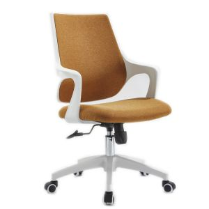 Computer Brown Color  Chair, Home Office Chair, Multi-Functional Rotary Chair, Study Chair, Backrest Chair, Netting Chair