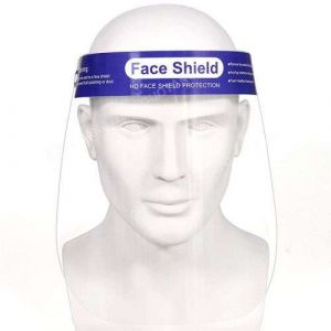 Disposable Splash Protection Anti Droplet Full Cover Pet Face Shield
