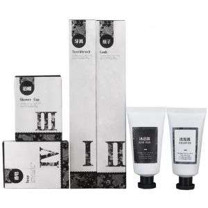 Free Sample Offer Low MOQ Eco Friendly Bath and Body Gel Making Customized SPA Hotel Guestroom Toiletries Amenities