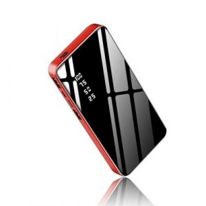 Red Color Fast Charging Type C Pd USB 30W 15000mAh Dual Output Mobile Charger Battery Power Bank