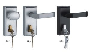 Exit Device Panic Outside Lever/Knob Handle (032)