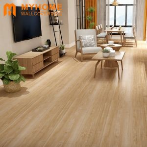 Factor Price Self-Adhesive Wood Grain Flooring Plastic Floor for Home