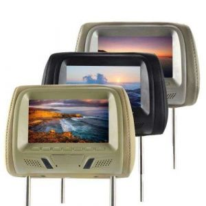 Factory Directly Selling Automobile LED Pillow Monitor, TFT Headrest Monitor