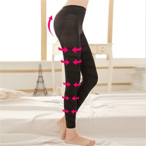 Fashion Women Body Shaper Slimming Black Color  Legging (SR8208)