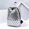 Fashion Women Geometric Luminous Backpack Travel School Business Shoulder Bag