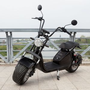 2021 Premium E8 Harley 60V Electric Scooter Twin Poles Adult Removable Rechargeable Lithium Battery Wide Tire 2000W Powerfull High Quality Electric Motorcycle