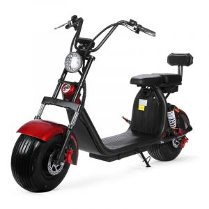 Hot Sell CE Approve Harley 60V Electric Battery Scooter Dual Lithium Battery Removable Rechargeable 1500W Scooter Large Wheel Wide Tire High Quality Scooter