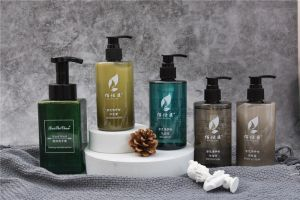 Luxury Hotel Cosmetics Set Five Star Hotel Amenities Set 300ml 500ml Bottle Shower Gel for Hotel