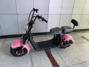 CE Certified X9 New Harley Electric Vehicle Scooter Can Be Equipped with Two Sets of Lithium Battery Removable Rechargeable Battery Car Wide Tires 1500W Scooter