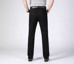 Gndz Customized Men′s Casual Jeans Pants High-End Slim Fit Trousers