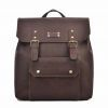 Guangzhou Factory Fashion Men′s Vintage Real Leather Travel Backpack