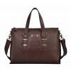 Guangzhou Factory Men′s Big Size Business Genuine Leathehr Shoulder Briefcase