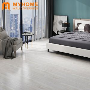Guangzhou Stock Plastic Wooden Flooring Floor Tiles for Interior