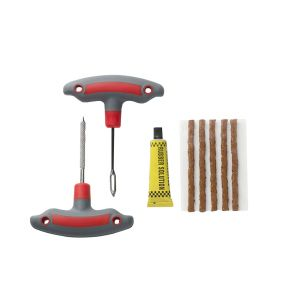 Gun-Type Vehicle Tire Repair Tool Set