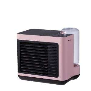 Hot sellers Negative Ion small portable usb water air cooling fan 2000mAh battery mini air cooler