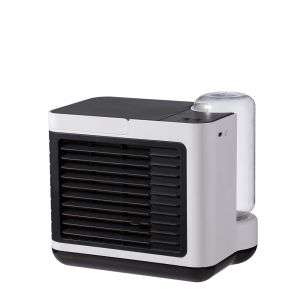 Portable Air Conditioner Fan Home Stand Rechargeable USB Air Fan Personal Space Mini Water Air Cooler Fan