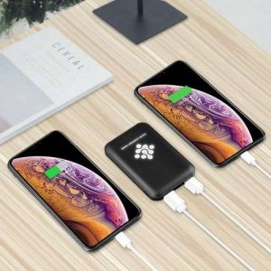 Promotional new arrivals Slim Power bank rubber 5000mAh for iPhone