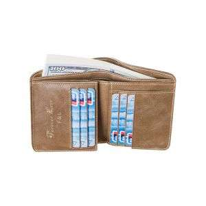 Customize Material luxrury leather stylish wallet holders passport holders