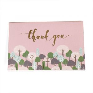 handmade handwritten greeting wholesale birthday recycled paper thank you cards custom with logo