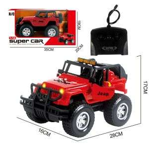 Rechargeable Battery Great Toy Remote Control Overload Off-road Car for Kids Age 8+