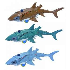 New Arrival Lifelike Kids Toys Battery Operated Remote Control Spray Electric Shark