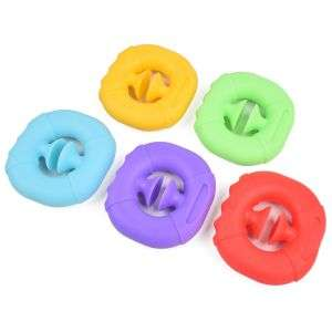 Silicone Stress Reliever Grip Ring Decompression Toys Pop Snappers Other Popper Noise Maker Toy Fidget Sensory Toys For Autism