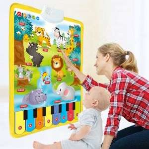 Hot Selling Tending Interactive Learning Product Funny Cartoon Mainan Anak Plastic Toy
