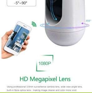 cctv smart mini size wireless security home camera with night vision