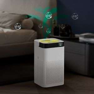 Personal Home Negative Ion Generator Air Purifiers Rechargeable UVC Air Cleaner Ionizer Portable Hepa H12 Filter Air Purifier