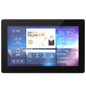 Tuya durable factory direct supply custom logo for home office hotel security Capacitive touch full screen touch