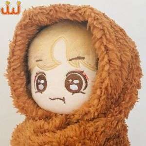 manufacturer made in Kpop dolls and superstar shaped idol doll Accessories pants hat plush Clothes stuffed toysHot sale products