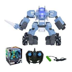 2.4 GHz Walking Robot with Music and Light Remote Control Robots Gift for Boys Girls Age 8+