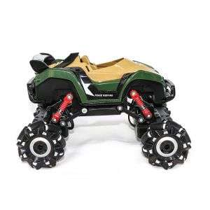 1:16 Scale with Rechargeable Battery 4 Flash Lights Remote Control Traverse Stunt Car for Kids