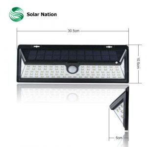 New Design 90 LED Solar Motion Sensor Light IP65 Led Solar Light Garden Lamp Outdoor Wall Lamp