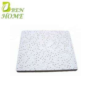 Superior Quality Tegular 2*2 Mineral Fiber Acoustic False Ceiling Board 20mm Thickness Details