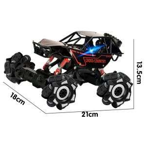 1:16 Scale with 2 Changeable Covers Remote Control Off-road Vehicle Great Toy for Kids Age 8+