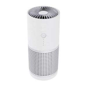 Smoke Air Cleaner Room Office Car Ionizer Ions Ture HEPA Carbon Filter Portable Mini USB Air Purifier