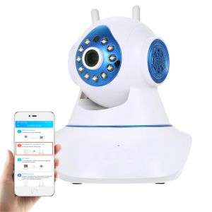 OEM 5MP CCTV Wireless IP Camera Home Security System Motion Detection AI Camera Support TF Card Storage
