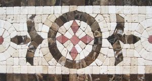 Handmade Stone Mosaic Decoration Border Tile for Wall and Floor Decoration