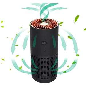 Portable Negative Ion Hepa Air Cleaner Intelligent Silent Ionic Air freshener for Home Office